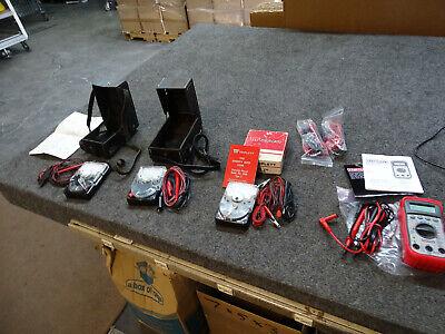 4 Multimeters Triplett 310 310-d 310-c Craftsman 82139 W Leads