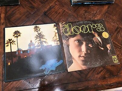 The Eagles Hotel California with Poster - The Doors Gold Record Award, used for sale  Akron