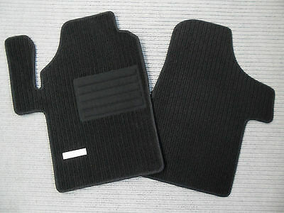 Rips Fußmatten für Mercedes Benz Viano Vito W639 3-tlg. + Schwarz + EMBLEM + NEU, gebraucht gebraucht kaufen  Anrode