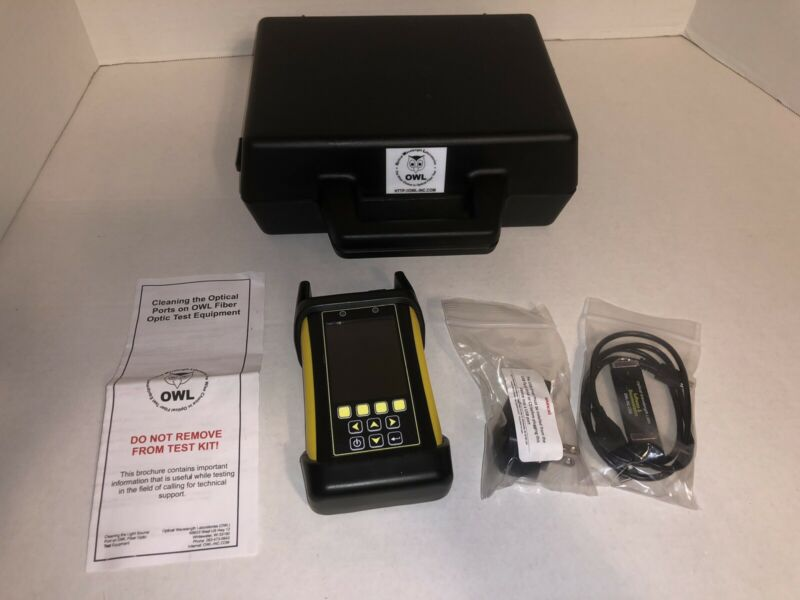 OWL WTO2-M83 - OWLTrek II Multimode OTDR (850nm/1300nm) Fiber Optic Test