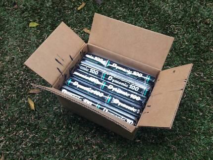 Tremco box of black polyurethane caulking sealant, 15 tubes.