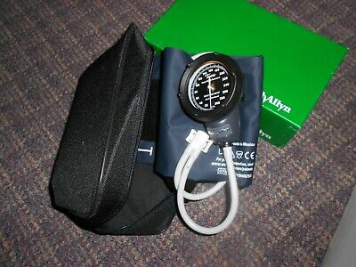 Welch Allyn 5090-02 Aneroid Sphygmomanometer Tycos 2 Tube Pocket Size Hand Held