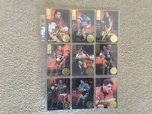 NRL Trading Cards 1995 - Series 1 - 9 Winners Circle chase cards Rivett Weston Creek Preview