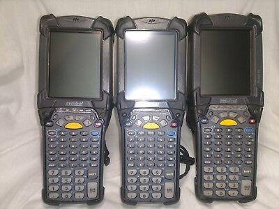 Lot Of 3 Motorola Symbol Mc9090-gf0hjefa6ww Windows Mobile 5 Wavelink Scanner 3x
