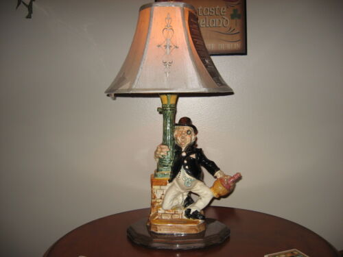 "1969  Ceramic "" Barsottini Wine "" Decanter / Lamp....One Of A Kind !!   Vintage"