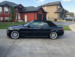 2006 330CI CONVERTIBLE RARE ZHP PERFORMANCE PACKAGE