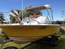 Penguin runabout (4.9m), 90 hp V4 & spare 8 hp Heathridge Joondalup Area Preview