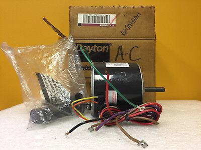 Dayton 3m838 13 Hp 1075 Rpm 2 Spd 0.5x 2.75 Wattrimmer Unit Heater Motor