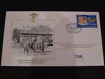 FDC,First,Day,of,Issue,POSTA ROMANA, Rumänien ,Flugzeug,Aircraft(104)