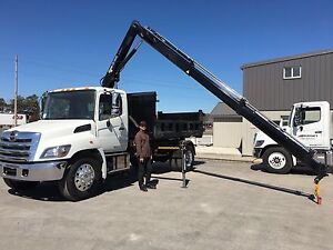 Hino 338 Truck for lease transfer