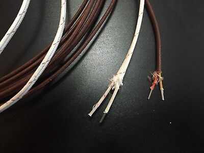 K- Type Thermocouple Wire 10 Foot 14 Awg K Type Thermocouple Grade Solid Wire
