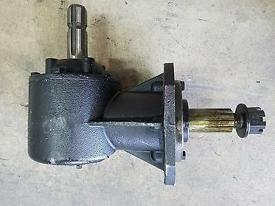 """Replacement Rotary Cutter 45 hp Gear Box 1 3/8"""" X 6 Spline Input Shaft"""