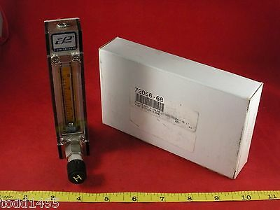 Cole Parmer 32015-17 Flow Meter 72056-68 Aalborg 014-02st 10 Lpm Ssss 65mm Air