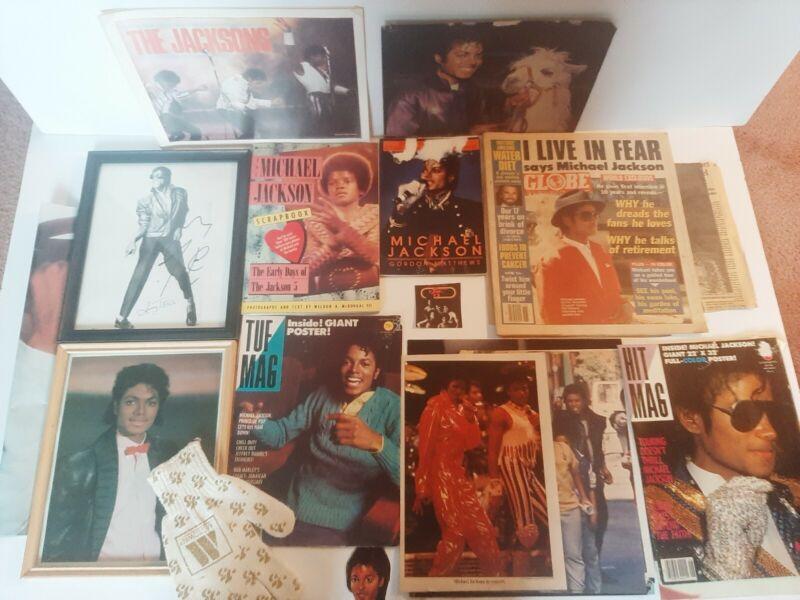 Michael jackson memorabilia collection