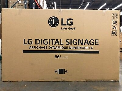 "LG 86"" Multi Screen Split Ultra 4K UHD LED Commercial Display Monitor - 86UH5C-B"