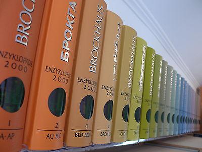 Brockhaus Enzyklopädie in 24 Bänden - 20. Auflage - André Heller - neuwertig