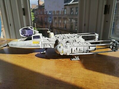 Hasbro Star Wars Y Wing Fighter (Minus front guns + bomb)