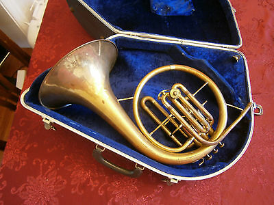 Reynolds Vintage Marching Curved Bell Mellophone