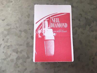 Neil Diamond - World Tour - Event Pass - Red