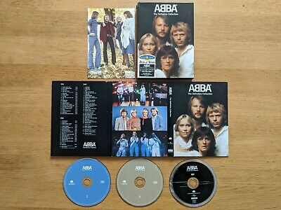ABBA - The Definitive Collection (Deluxe Sound+Vision 2 CD & 1 DVD Set 2004)
