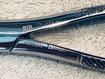 Dental Extraction Forceps Miltexbrand Stainless Steel Made In Germany 222