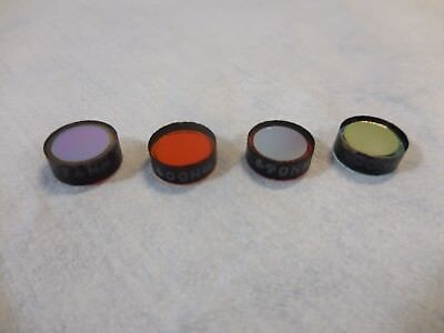 10mm 600nm 670nm 690nm Laser Glass Optical Filter Lot Of 4