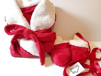 Alcove Throw and Bootie Set - Red - Size: S/M ()