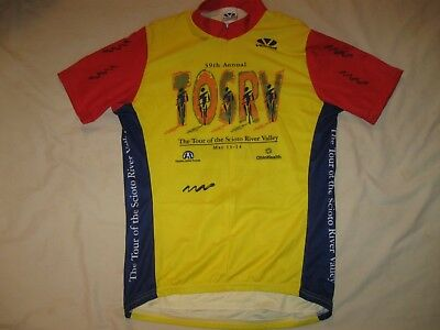 Voler Cycling Jersey Club Medium Adult Bike Wear Scioto River Valley  Columbus OH de0126a36