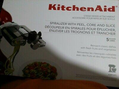 KitchenAid KSM1APC Spiralizer Attachments Peel, Core and Slicer (SR455)