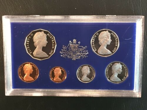 1979 Australia Royal Australian Mint 6 Coin Proof Set Lot#B140 (1 Set Only)