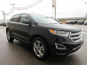 2017 Ford Edge Titanium-AWD, LEATHER, LOW KM'S, COOL & HEAT SEAT