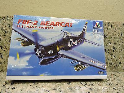 Italeri 0803L F8F-2 Bearcat U.S. Navy Fighter 1:48 1997 Plastic Model Kit