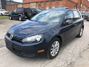 2013 Volkswagen Golf Comfortline, Manual, Power Sunroof and more