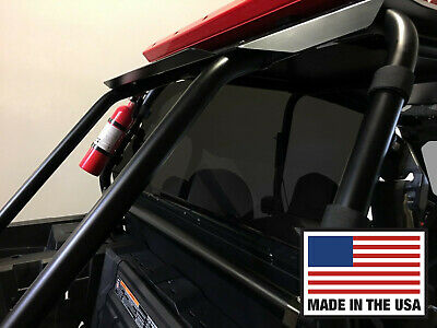RZR Rear Windshield WIndow. Dark Tint Polycarbonate Polaris RZR XP 1000, TURBO