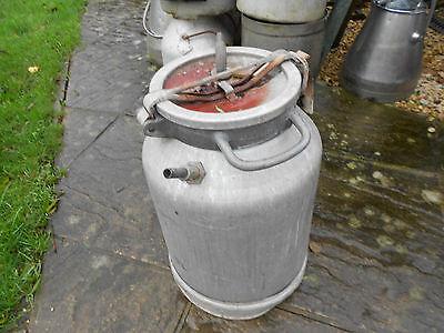 aluminium milk churn garden planter feature barn find 20 inches high