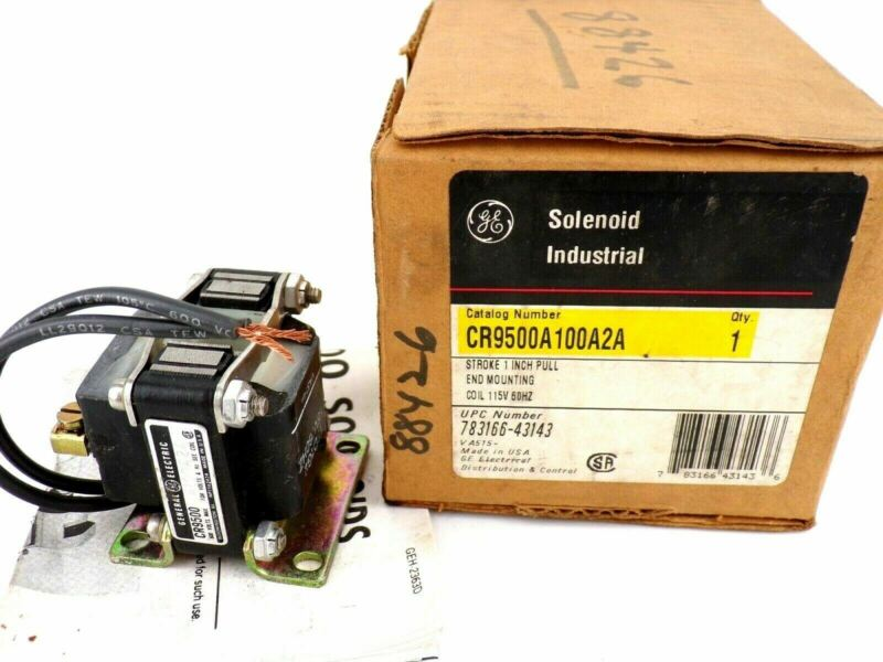 NEW General Electric CR9500A100A2A Industrial Solenoid Coil, 115V, 60HZ
