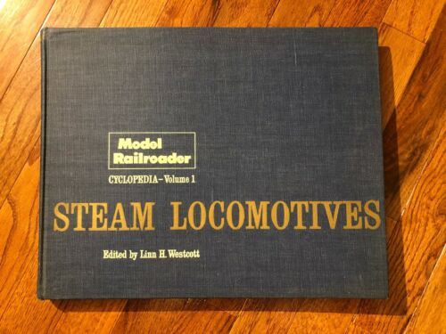 Steam Locomotives Model Railroader Cyclopedia Volume 1 ,1960 Edition