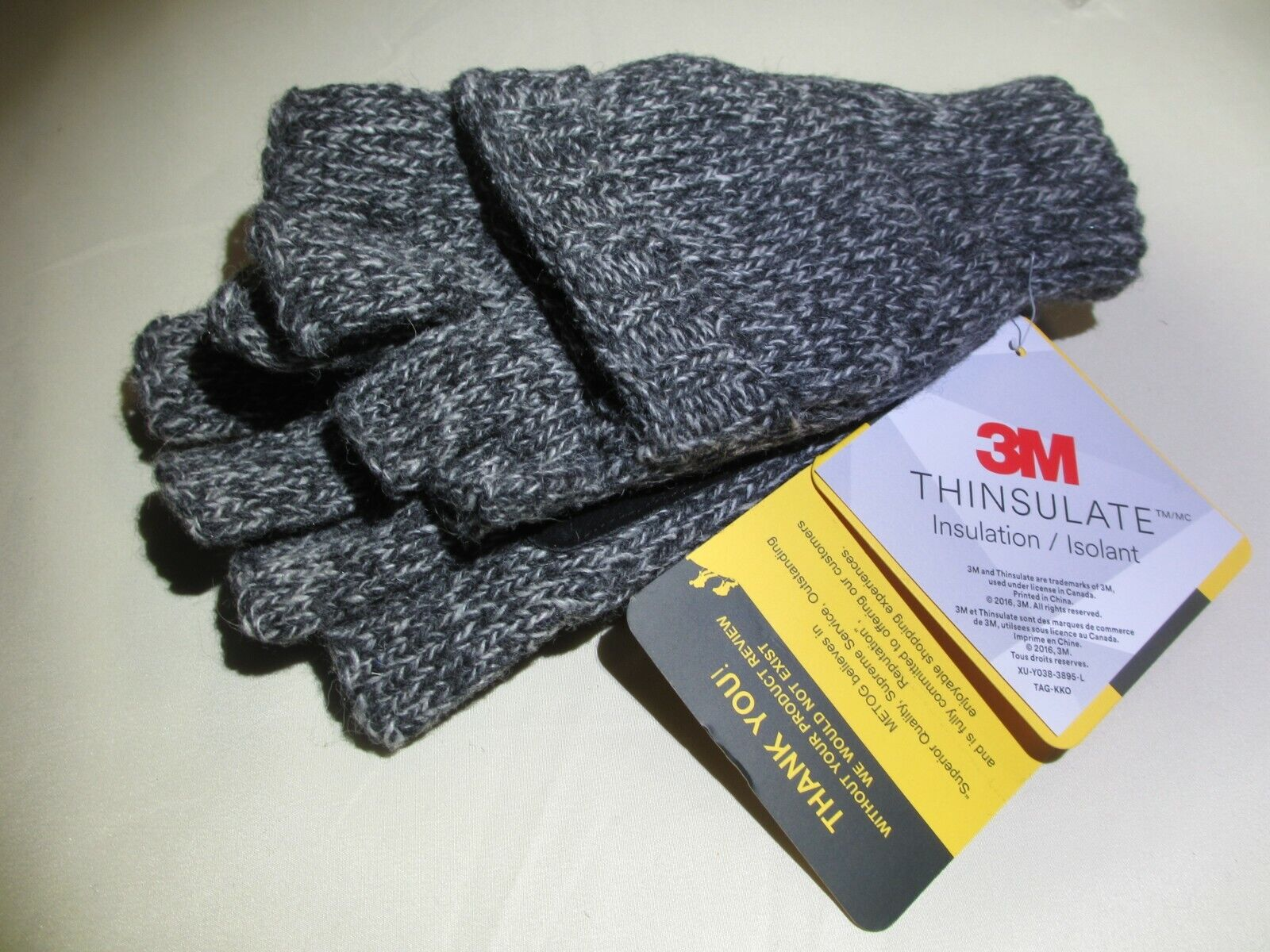 Metog Suede 3M Thinsulate Thermal Insulation Mittens,Gloves,