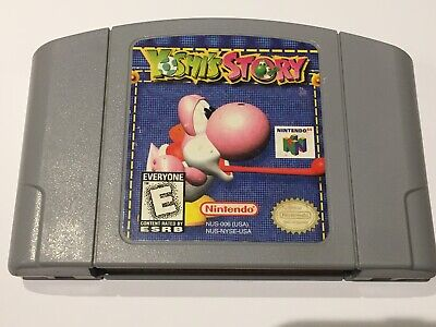 Yoshi's Story (Nintendo 64/N64, 1998) Authentic Cart Only - Tested & Working