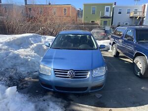 2008 Voltswagon City Jetta for parts or repair.
