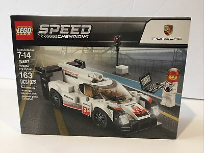 LEGO-75887-Speed Champions-Porsche 919 Hybrid-Retired Product-New in Sealed Box