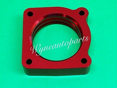Fit 02-06 Nissan Altima Sentra  SE-R SPEC V Vortex Flow Throttle Body Spacer RED