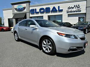 2012 Acura TL Technology Package LEATHER SUNROOF NAVIGATION