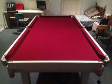 8x4 BILLIARD / POOL TABLE Australian Made AMERICAN 9 Ball Table Moonee Ponds Moonee Valley Preview