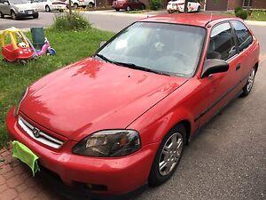 1999 Honda Civic hatchback  $1500 OBO