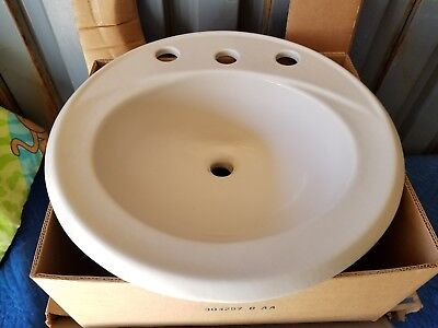KOHLER K-2202-8-47 Brookline Self-Rimming Bathroom Sink, (Brookline Self Rimming Bathroom Sink)
