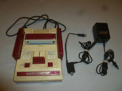 FAMILY COMPUTER FAMICOM NINTENDO SYSTEM JAPAN IMPORT CONSOLE SET CONTROLLERS