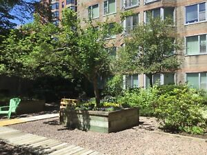 One bedroom in perfect location downtown - location !!