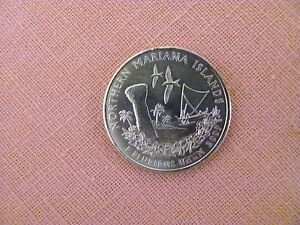 2009 P UNCIRCULATED NORTHERN MARIANA ISLANDS QUARTER from DC&US Terr. Mint Roll