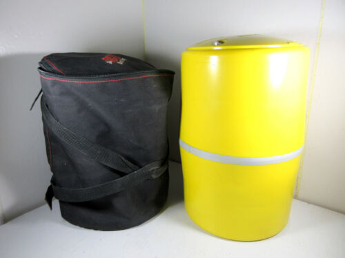 Counter Assault Bear Resistant Keg Food Storage Container Yellow w/ Carry Bag